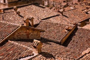 The red roofs of Italy